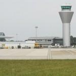 Airport skylark survey 2012. Photo by Mick Dryden