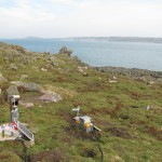 Burhou cameras. Photo Alderney Wildlife Trust