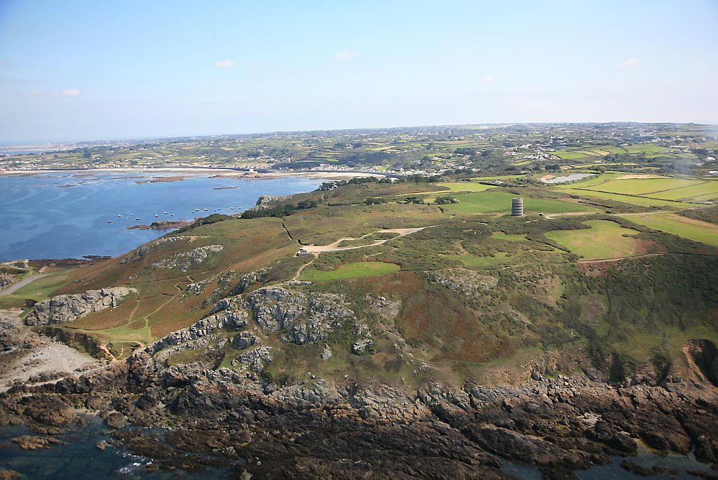 Pleinmont Point, Guernsey. Photo by States of Guernsey