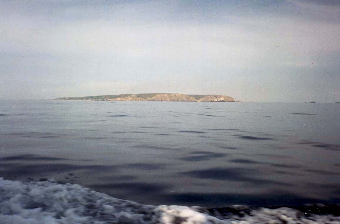 ALDERNEY FROM THE SEA