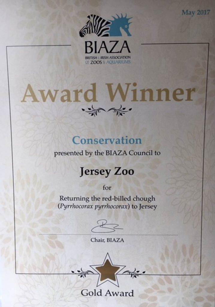BIAZA award 2017
